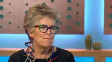 Prue Leith looks gutted that Bake Off didn't win an NTA