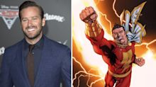 "Armie Hammer ""open"" to playing DC superhero Shazam"