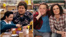 John Goodman y Sara Gilbert se reúnen 20 años después del final de 'Roseanne'