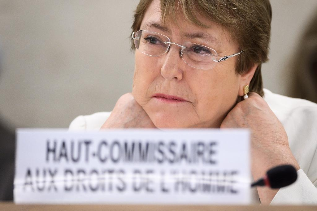 A Burundi govt delegation is set to meet with UN rights head and former Chilean president Michelle Bachelet following a UN report stating that Burundi may be committing crimes against humanity (AFP Photo/Fabrice COFFRINI)