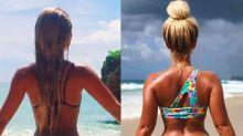 Bikini designer Karina Irby defends her 'booty gains'