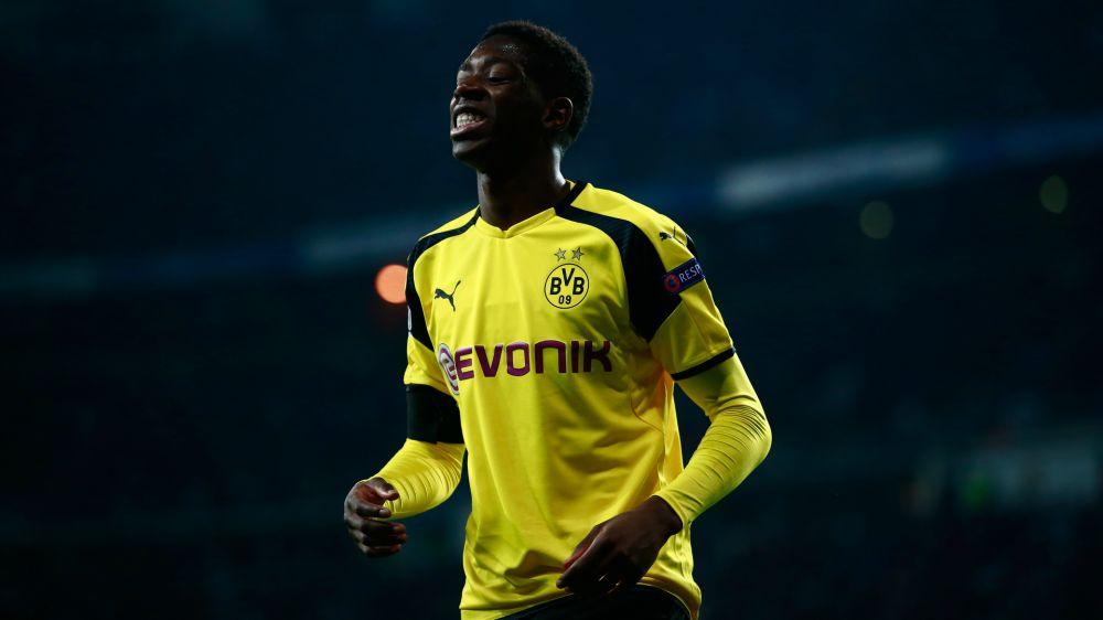 Dortmund's Dembele expecting goals in Monaco tie