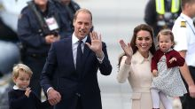Prince William jokes about expecting twins