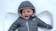 Joanna Gaines Shows Off Her 'Very Own Snow Angel' — Her Smiley Baby Boy Crew!