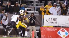 Wyoming's Titus Swen reminds everyone he's a 'baller' with strong showing in spring game