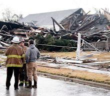 Tornado causes significant damage in downtown Wetumpka, Alabama