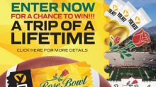 MYOS RENS Technology Kicks Off College Football Season with the Launch of the Yolked® Rose Bowl Stadium Sweepstakes