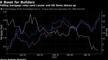 Homebuilders' Earnings Boosted by Falling Mortgage Rates