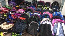 舊書包轉送貧困學童 全港七個捐贈二手書包收集點