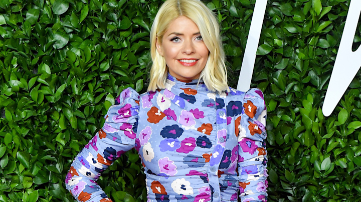 Holly Willoughby's flattering M&S midi dress is back in stock (and now under £30)