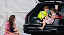 Duchess Kate 'takes George and Charlotte to favourite London private members club'