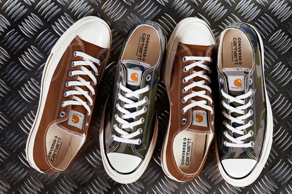 db7190f0290 Converse Collaborated on New Military-Inspired Shoes With Carhartt WIP