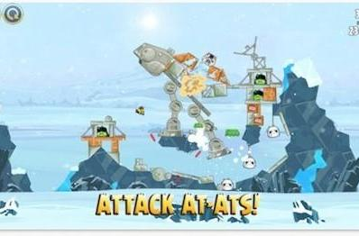 Angry Birds Star Wars updated with free Hoth levels