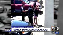 Chilling Video Shows Cop Aiming Gun At Black Family After Girl, 4, Takes Doll From Store