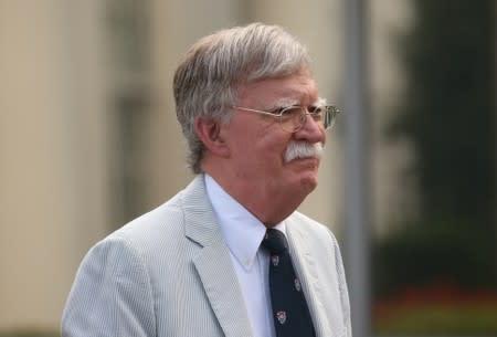 Bolton says North Korea tests didn't violate pledge to Trump, but no word on talks