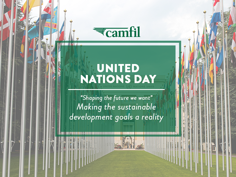 Join Camfil in Celebrating the 75th Annual United Nations Day