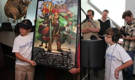 Make-a-Wish boy becomes KingsIsle honorary producer