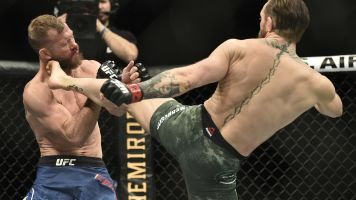 Conor McGregor only needs 40 seconds to TKO Donald Cerrone at UFC 246