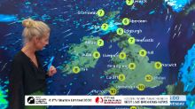 Ulrika Jonsson returns to presenting the weather on 'Good Morning Britain'