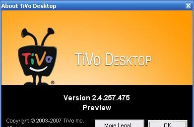 TiVo Desktop 2.4 public beta loosed, enables PC-to-TiVO transcoding
