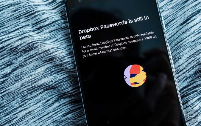 Dropbox Passwords
