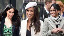 Photos : Mariage princier : Les plus belles coiffures de Meghan Markle