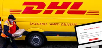 Warning to millions as DHL caught in email scam