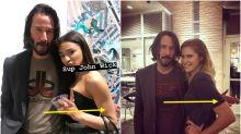 Confirmado: Keanu Reeves nunca toca a sus fans en las fotos