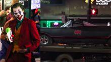 Un VIDEO filtrado del set de Joker demuestra que podría haber un cameo de Batman