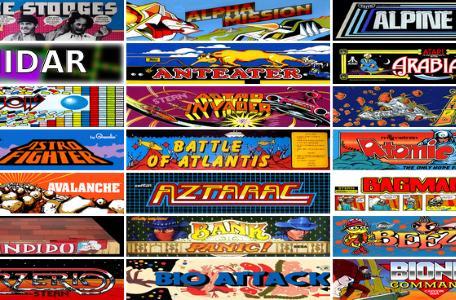 The Internet Arcade has 900+ games, no quarters needed
