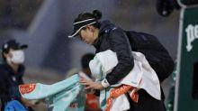 Roland-Garros (F) - Roland-Garros: Garbiñe Muguruza commence sur le Lenglen et finit sur le Chatrier