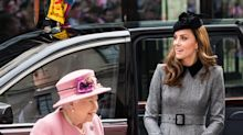 Queen Elizabeth's pink coat is a transitional wardrobe staple: Shop the royal look for less