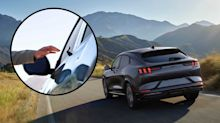 The Ford Mustang Mach-E doesn't have door handles, here's why