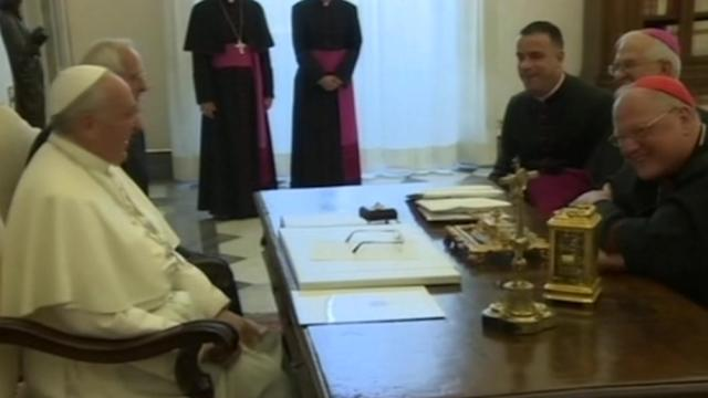 Pope holds private audience with U.S. delegation