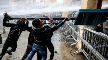 Confrontos entre manifestantes e policiais deixam mais de 220 feridos no Líbano