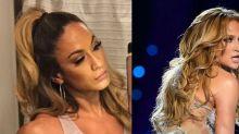 Jennifer Lopez's Look-Alike Is a Bodybuilder from Houston