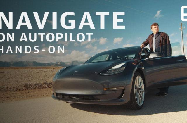Tesla's Navigate on Autopilot was my CES road trip companion