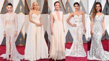 Who wore it best? Oscars bridal fashion