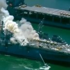 Navy sailor charged with starting warship fire last year