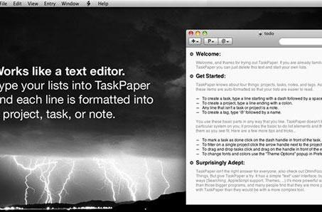 TaskPaper 2.2.3 in the Mac App Store with a big discount
