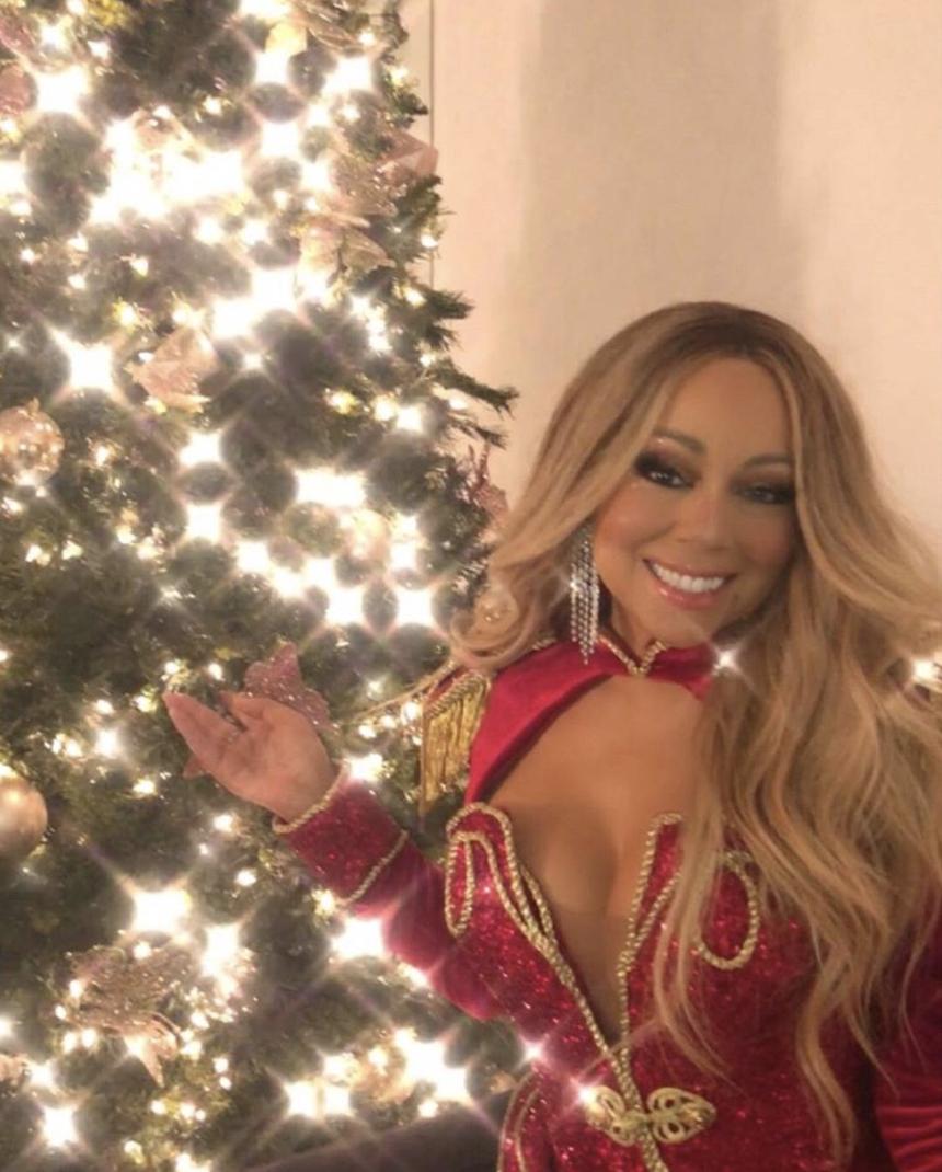 Mariah Carey\'s Christmas classic cracks the top 10
