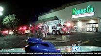Electrical Fire Starts In Freezer At South Sacramento Grocery Store