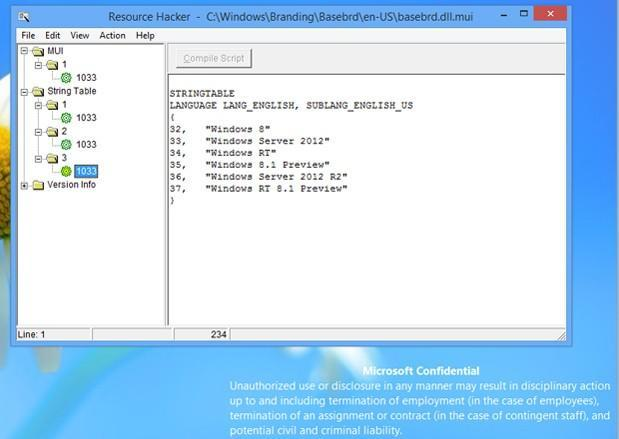 Windows RT and Server 2012 updates mentioned in recent 8.1 leak