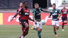 Em jogo quase não realizado, Fla busca empate contra o Palmeiras