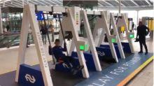 【新片速報】荷蘭聰明手機充電站 發電靠盪鞦韆