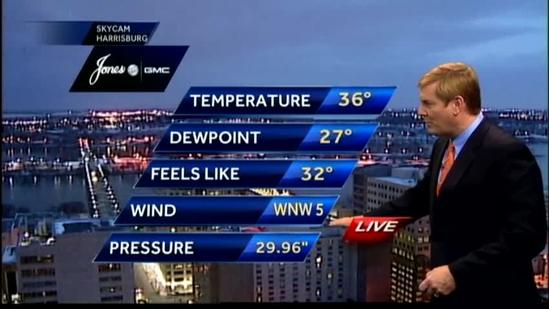Temps expected to drop, flurries possible later this week