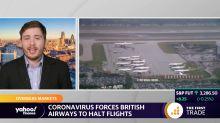 Coronavirus forces British Airways to halt flights