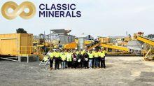 Classic Minerals Ltd (CLZ.AX) Gold Processing Plant Successfully Commissioned