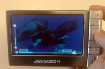 The new Archos 604 gets a hands-on look
