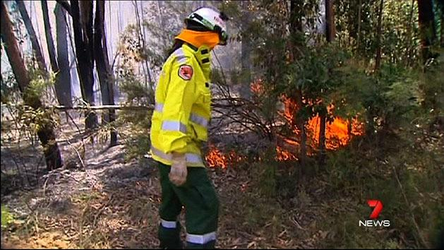 Shoalhaven fire causing most concern